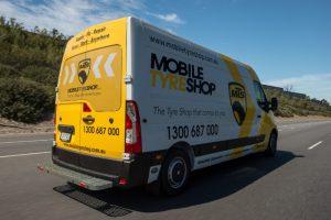 MTS Van in Melbourne CBD