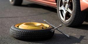 car spare tyre