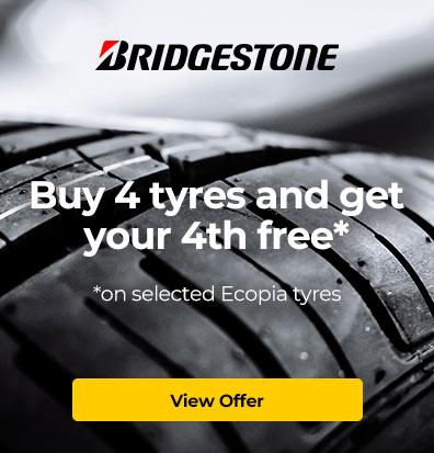 Bridgestone – Ecopia Tyre Free Offer